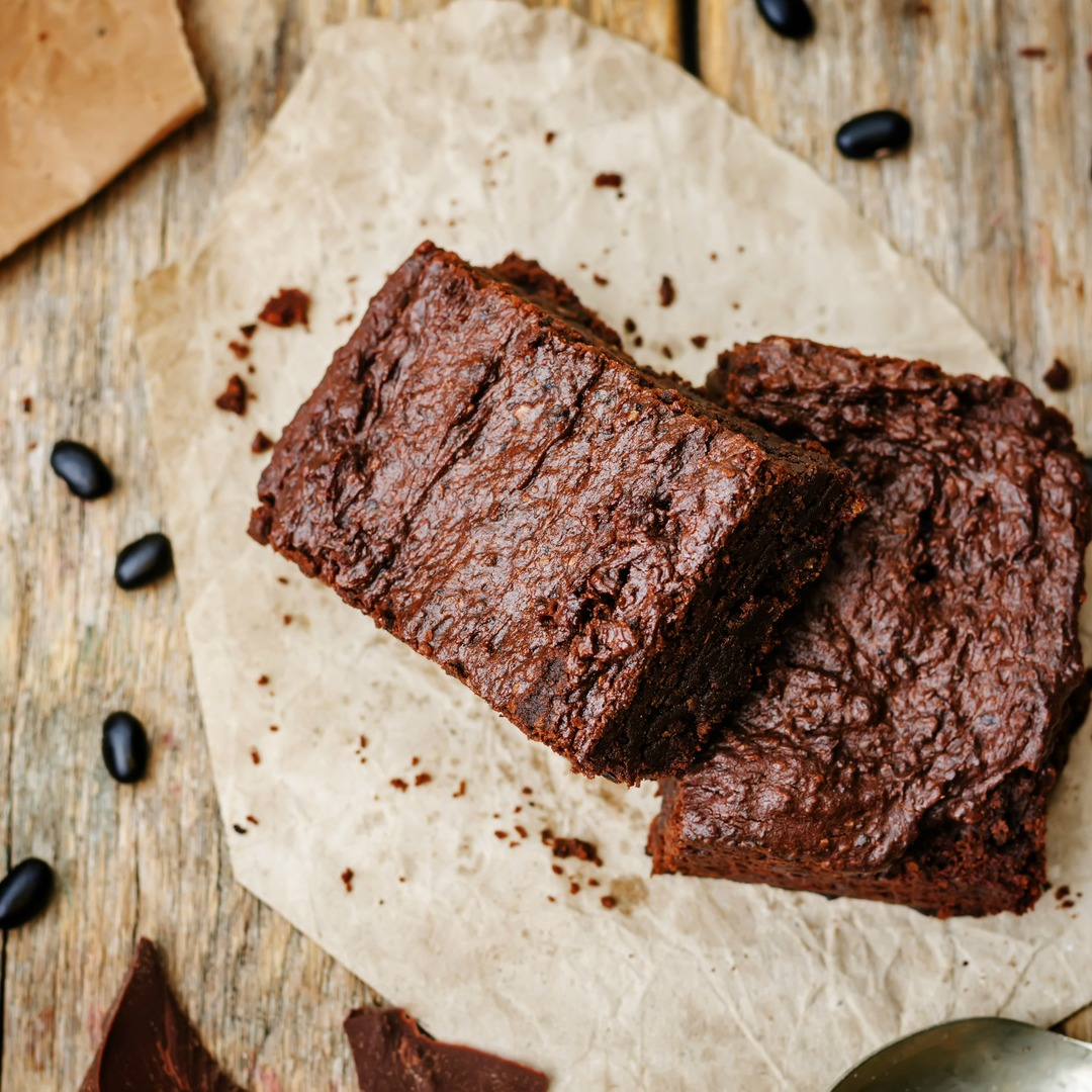 Black Bean Banana Brownies